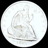 1861-S Seated Half Dollar UNCIRCULATED