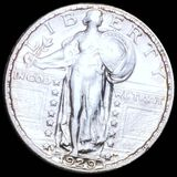 1929-S Standing Liberty Quarter CLOSELY UNC