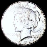 1924-S Silver Peace Dollar CLOSELY UNC