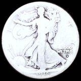 1916-S Walking Half Dollar NICELY CIRCULATED