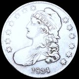 1834 Capped Bust Half Dollar LIGHTLY CIRCULATED