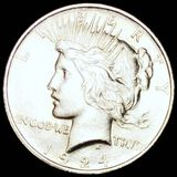 1924 Silver Peace Dollar UNCIRCULATED