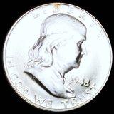 1948 Franklin Half Dollar UNCIRCULATED