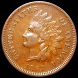 1867 Indian Head Penny NEARLY UNCIRCULATED