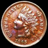 1865 Indian Head Penny CLOSELY UNCIRCULATED