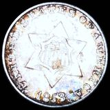1853 Three Cent Silver UNCIRCULATED