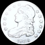 1834 Capped Bust Half Dollar CLOSELY UNCIRCULATED