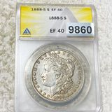 1888-S Morgan Silver Dollar ANACS - EF40