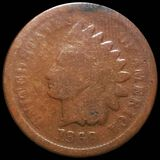 1869 Indian Head Penny NICELY CIRCULATED