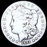 1884-CC Morgan Silver Dollar NICELY CIRCULATED
