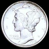 1919 Mercury Silver Dime UNCIRCULATED