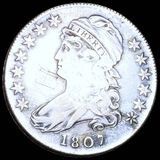 1807 Capped Bust Half Dollar NICELY CIRCULATED