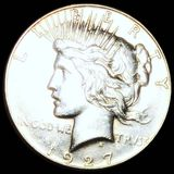1927 Silver Peace Dollar UNCIRCULATED