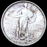 1917 TY1 Standing Liberty Quarter UNCIRCULATED