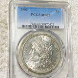 1903 Morgan Silver Dollar PCGS - MS62