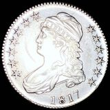 1817 Capped Bust Half Dollar CLOSELY UNCIRCULATED