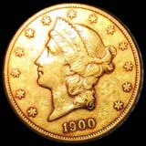 1900-S $20 Gold Double Eagle UNCIRCULATED