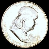 1949-S Franklin Half Dollar CLOSELY UNCIRCULATED