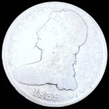 1839 Capped Bust Half Dollar NICELY CIRCULATED