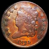 1825 Classic Head Half Cent NICELY CIRCULATED