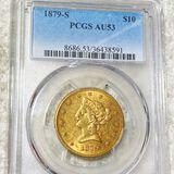 1879-S $10 Gold Eagle PCGS - AU53