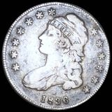 1836 Capped Bust Half Dollar NICELY CIRCULATED