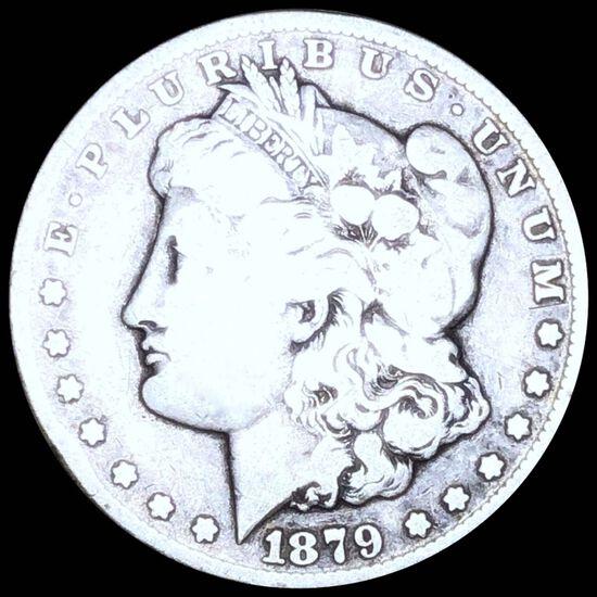 1879-CC  Morgan Silver Dollar NICELY CIRCULATED