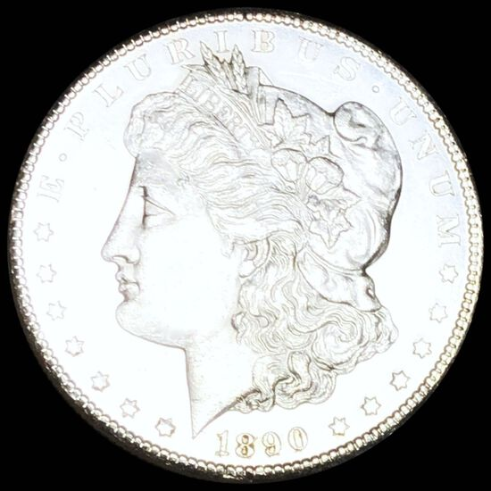1890-CC Morgan Silver Dollar UNCIRCULATED