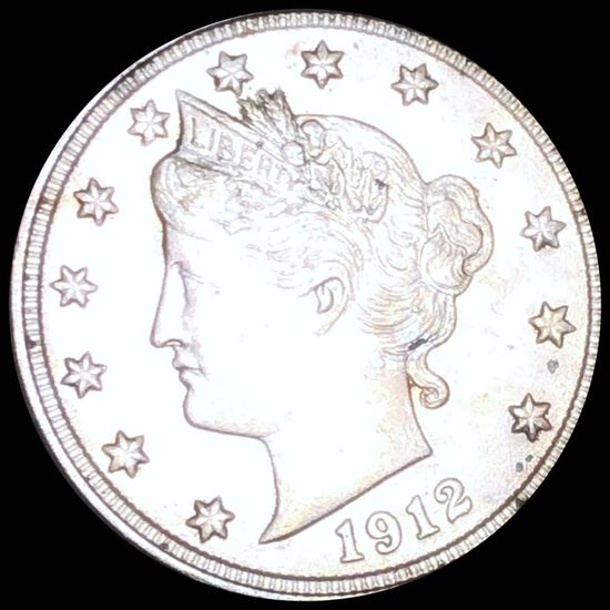 1912 Liberty Victory Nickel NICELY CIRCULATED