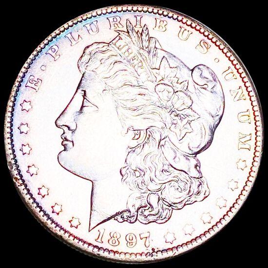 1897-O Morgan Silver Dollar UNCIRCULATED