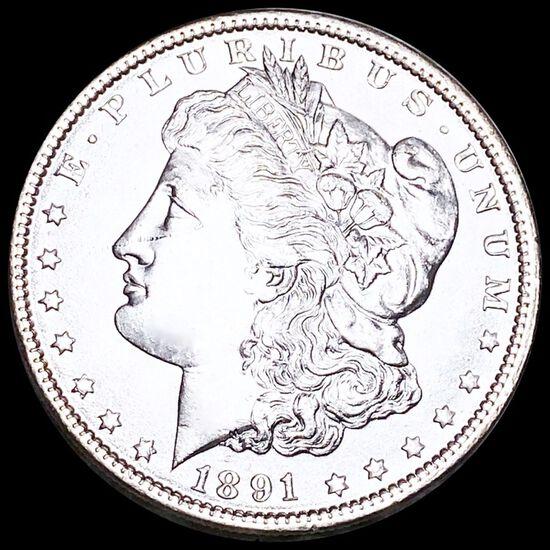 1891 Morgan Silver Dollar UNCIRCULATED