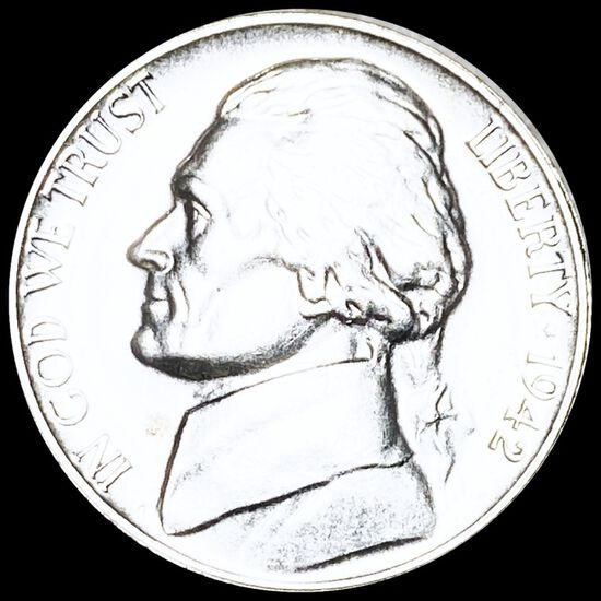 1942-P Jefferson War Nickel UNCIRCULATED
