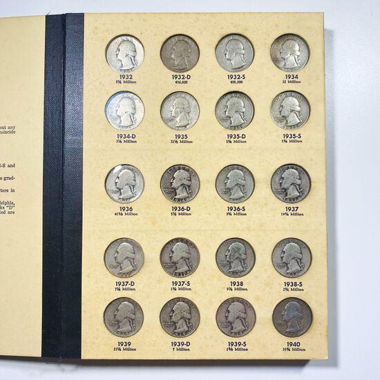 1932-1964 Washington Quarter Book VF/XF 83 COINS