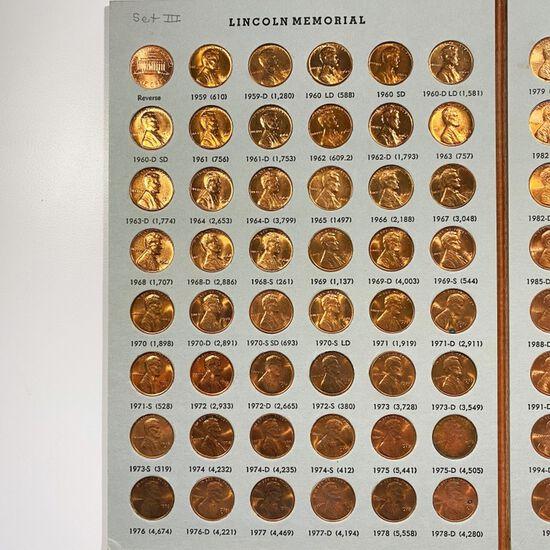 1959-2000 Lincoln Memorial Book GEM UNC/PR 131 CNS