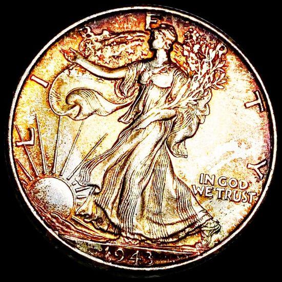 1943 Walking Liberty Half Dollar UNCIRCULATED