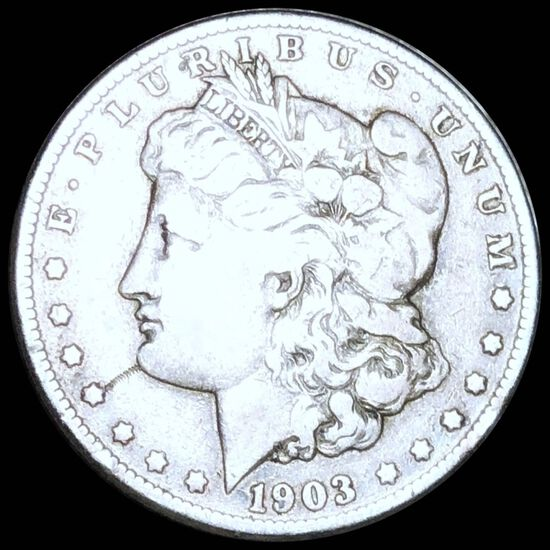 1903-S Morgan Silver Dollar NICELY CIRCULATED