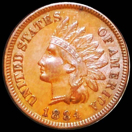 1884 Indian Head Penny UNCIRCULATED