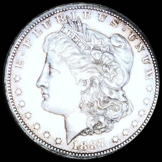 1887-S Morgan Silver Dollar CLOSELY UNC
