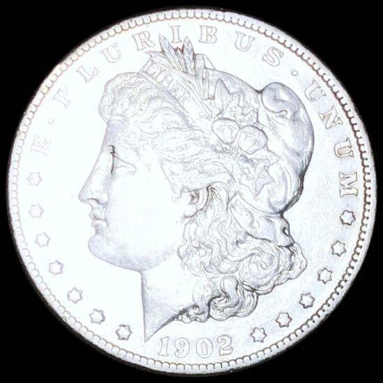 1902-S Morgan Silver Dollar LIGHTLY CIRCULATED