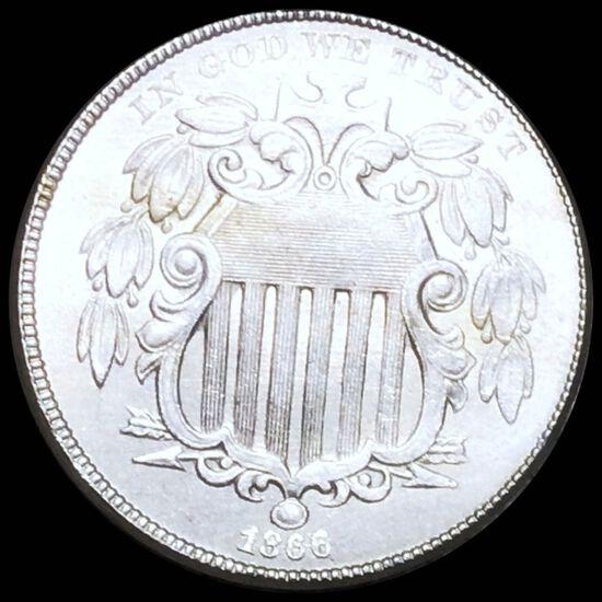 1866 Shield Nickel UNCIRCULATED