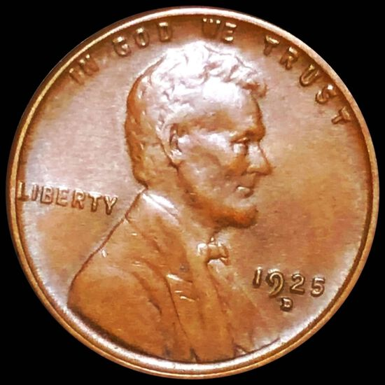 1925-D Lincoln Wheat Penny UNCIRCULATED