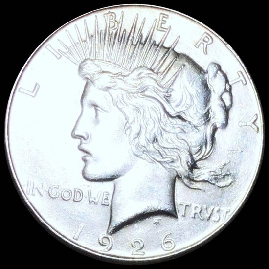 1926-S Silver Peace Dollar UNCIRCULATED