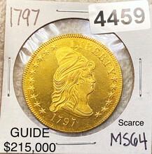1797 $10 Gold Eagle CHOICE BU