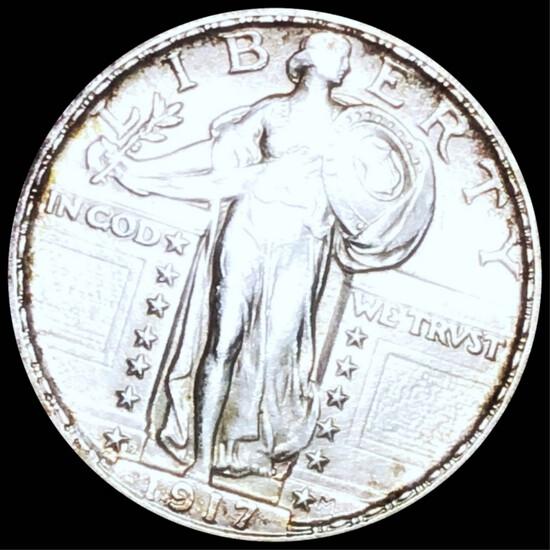 1917-D Standing Liberty Quarter UNCIRCULATED