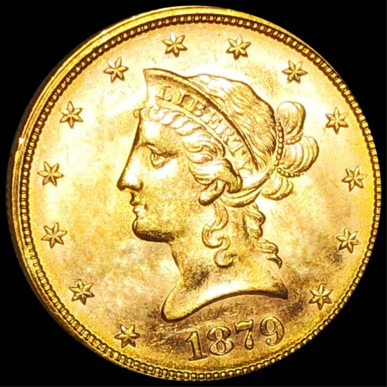 1879 $10 Gold Eagle UNCIRCULATED