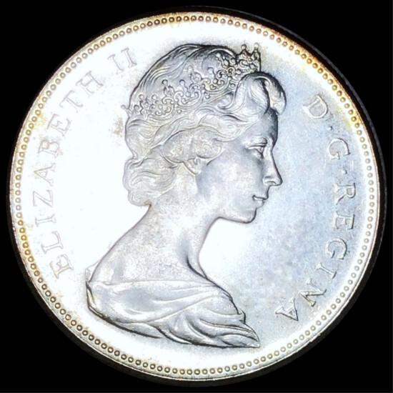 1967 Canadian Silver Dollar UNCIRCULATED