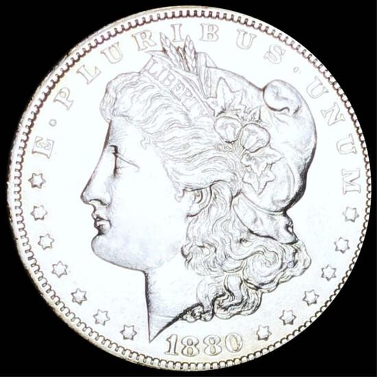 1880-CC Rev '78 Morgan Silver Dollar UNC