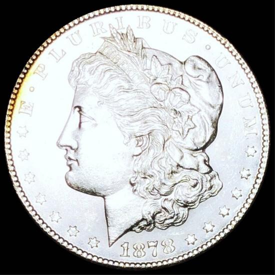 1878-S Morgan Silver Dollar UNCIRCULATED