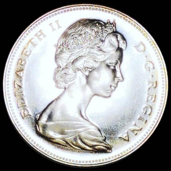 1967 Canadian Silver Dollar GEM PROOF