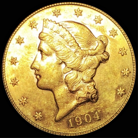 1904 $20 Gold Double Eagle UNCIRCULATED